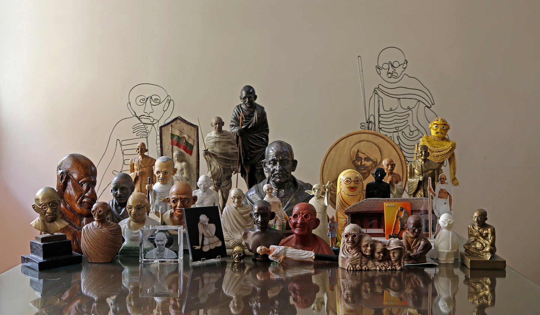 My Experiments with Kitsch: A collector's search for Mahatma Gandhi