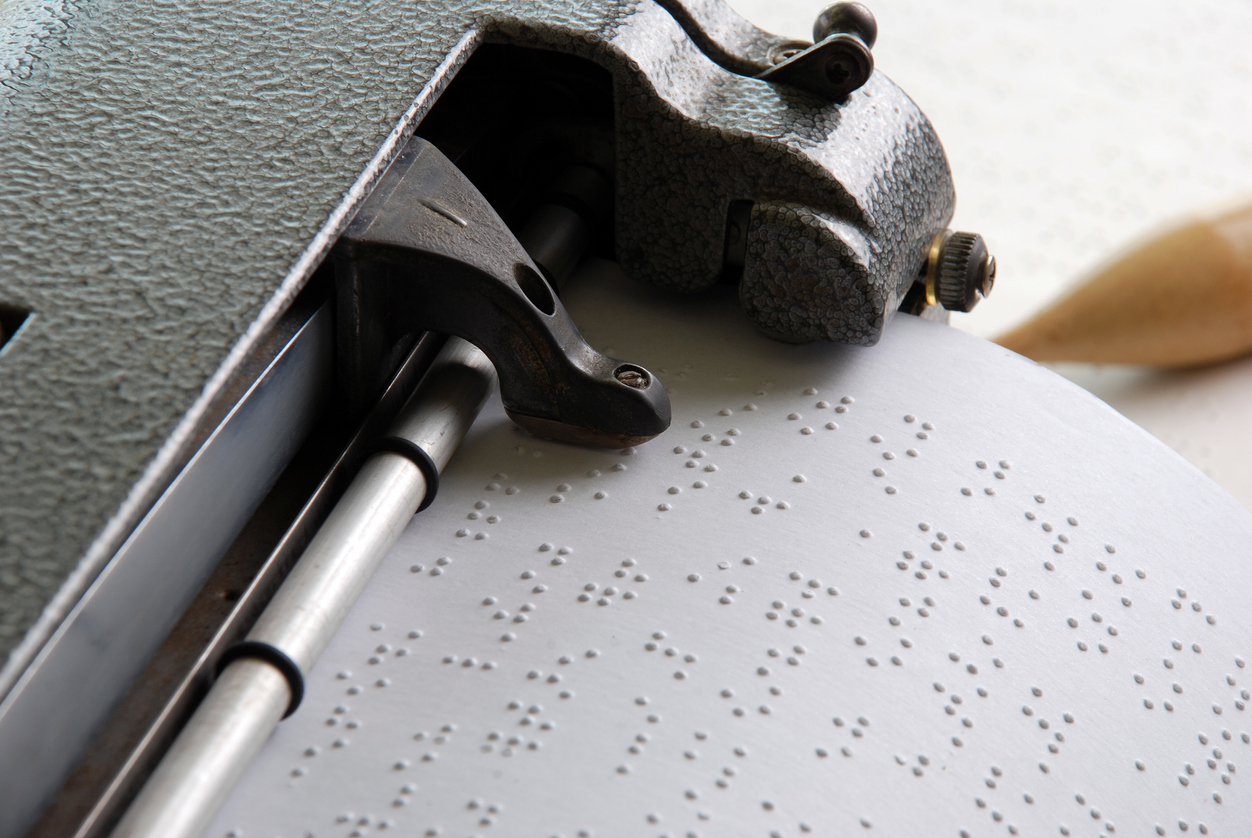 The Election Commission plans on giving Braille election photo identity cards to visually challenged voters
