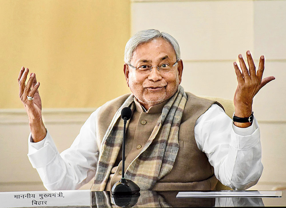 Apparently uncomfortable with a domineering BJP, Bihar chief minister Nitish Kumar would like to partner the RJD, which has lost its political swagger after the debacle in the parliamentary elections