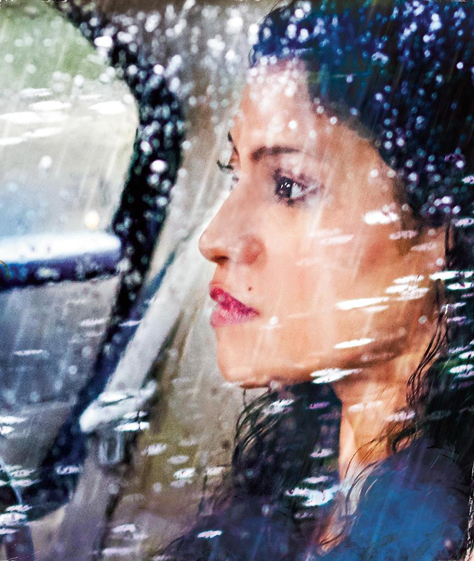 Konkona Sensharma in A Monsoon Date.