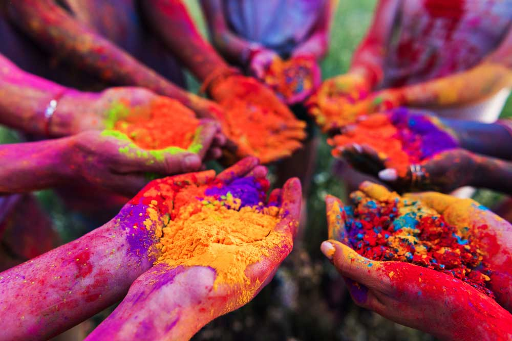 Not only do people forcefully apply colours on others, but people have also been molested in the garb of doing so