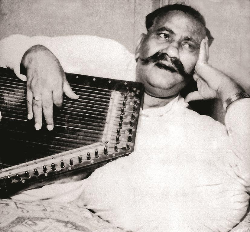 Ustad Bade Ghulam Ali Khan.