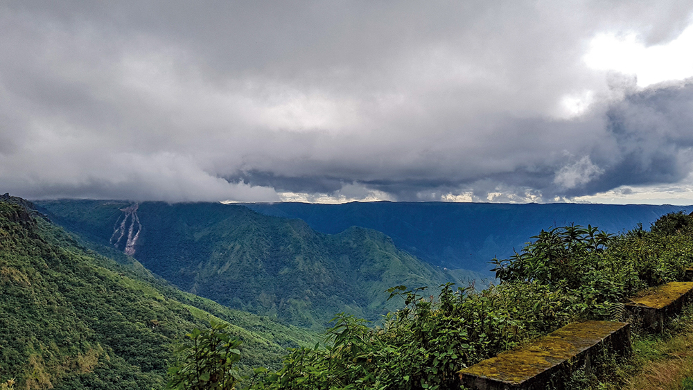 A view of Shillong, Meghalaya. The weather remains the same as in the time of anthropologist Verrier Elwin; otherwise, the city has changed beyond recognition