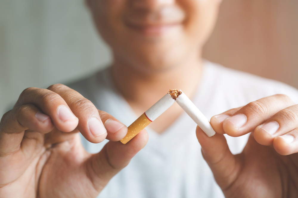 When someone smokes for the first time, the nicotine will target a particular area of the brain to stimulate both pleasure and aversion. But if the person continues to smoke, their brain will change