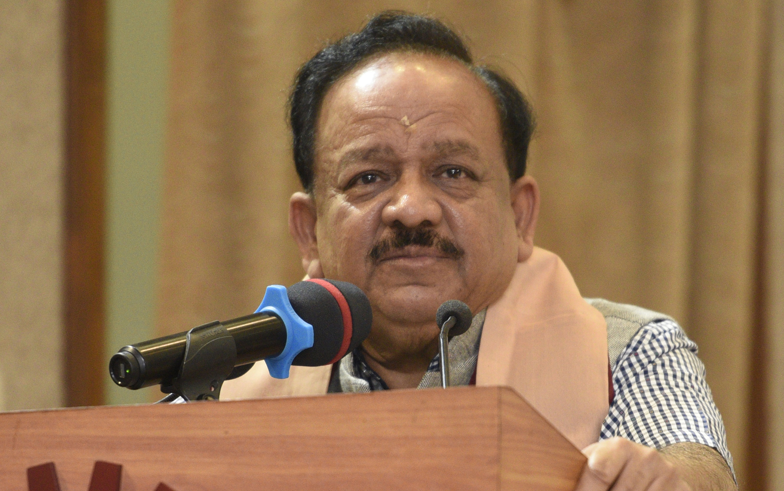 Union Health Minister Harsh Vardhan (in picture) is scheduled to visit Muzaffarpur on Sunday to take stock of the situation.