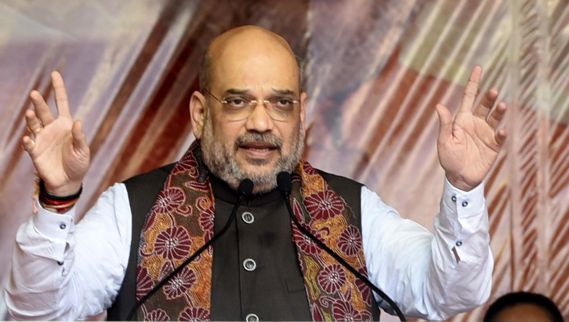 BJP chief Amit Shah call for 'kamal deepawali' in Madhya Pradesh