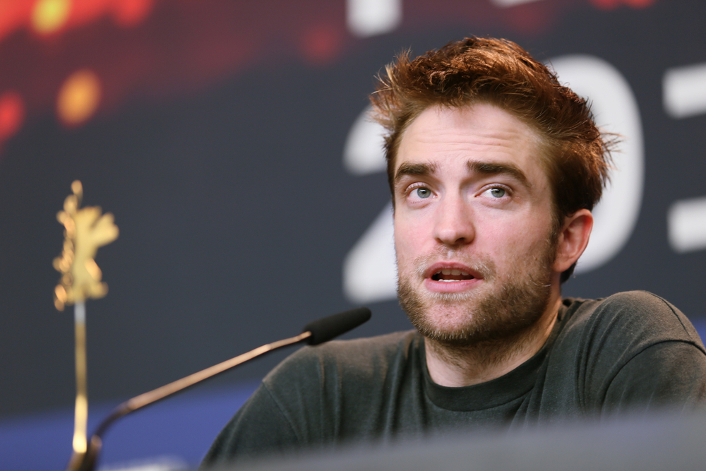 English actor, Robert Pattinson
