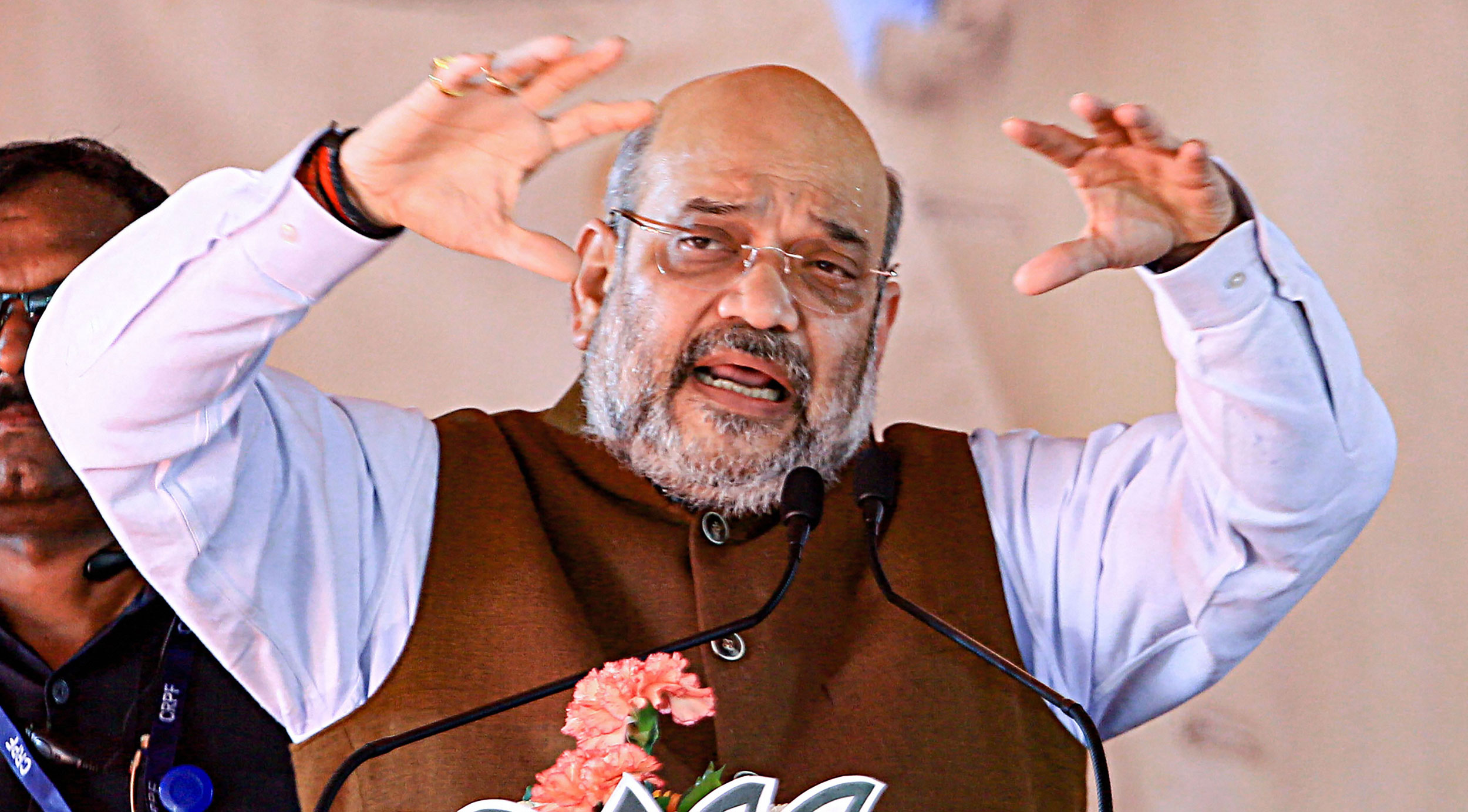 """Amit Shah had in October skipped the Indo-Tibetan Border Police's Raising Day parade too, at a time an avowedly """"nationalistic"""" government's treatment of the paramilitary forces was provoking comment. The previous month, the government had frozen CRPF troops' monthly ration allowance."""