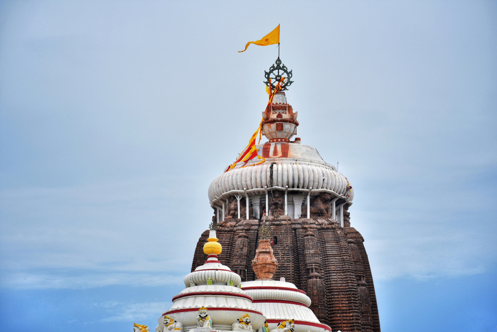 The Jagannath Temple in Puri. Conversations with masseurs on the beach in the town revealed that they have an informal union