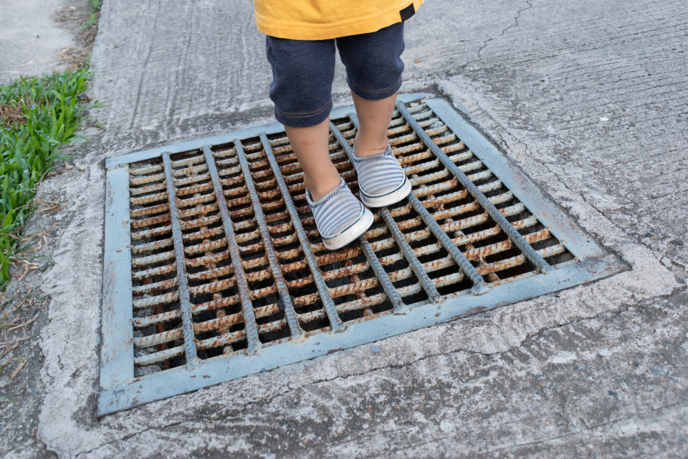 (Representational image) A three-year-old boy fell into a storm water drain at Ambedkar Chowk in Malad East on Wednesday night