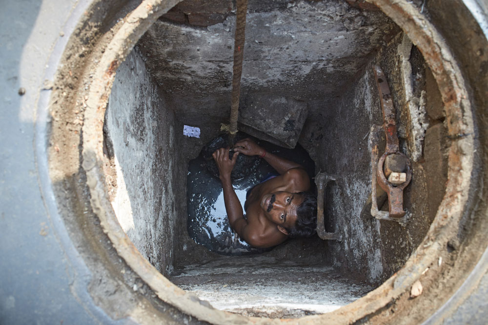 Sanitation workers' manifesto: a reminder that the government must invest in modern sanitation