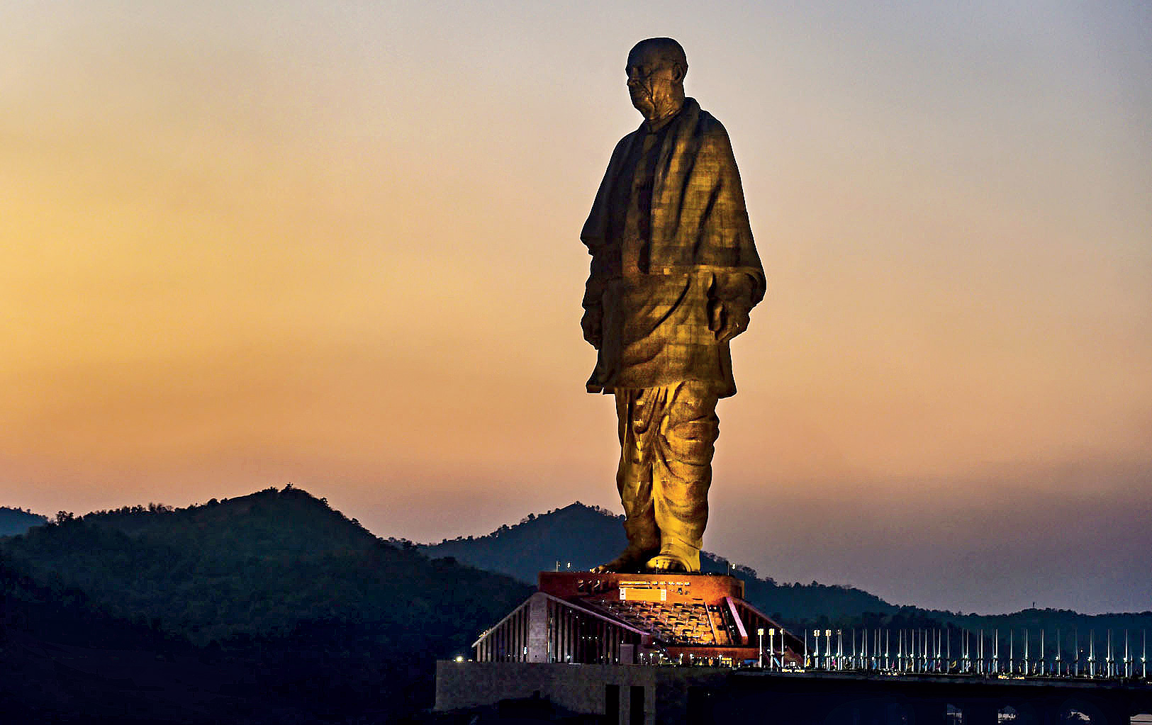 The Statue of Unity: An irony cast in stone