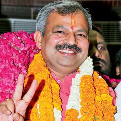 Adesh Kumar Gupta, a former mayor of North Delhi Municipal Corporation, replaced Manoj Tiwari, a member of Lok Sabha, had offered to quit after the BJP lost to the Aam Aadmi Party in the Delhi Assembly polls.