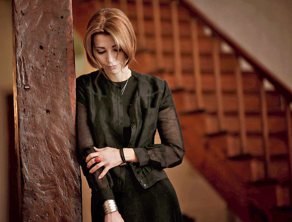 Turkish novelist Elif Shafak — a quiet voice of reason speaking of grave atrocities with the poise of a ballerina