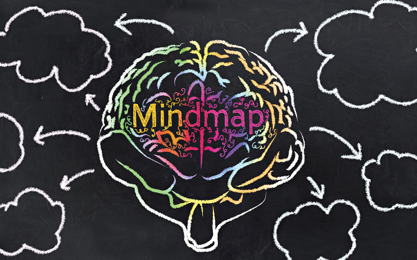 A mind map is a diagram or graphic layout used to visually organise information. It is created around a single concept, drawn as an image in the centre of a blank page, to which associated representations of ideas such as images, words and parts of words are added.