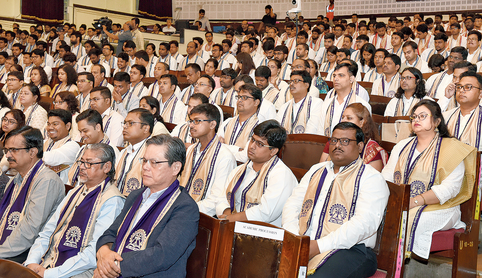 Participants at the convocation
