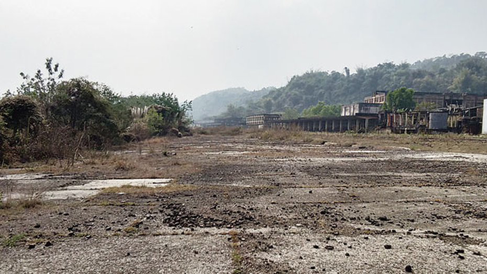 The Cachar Paper Mill in Assam's Hailakandi district