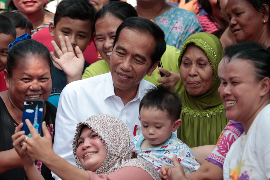 Joko Widodo reelected as Indonesian President