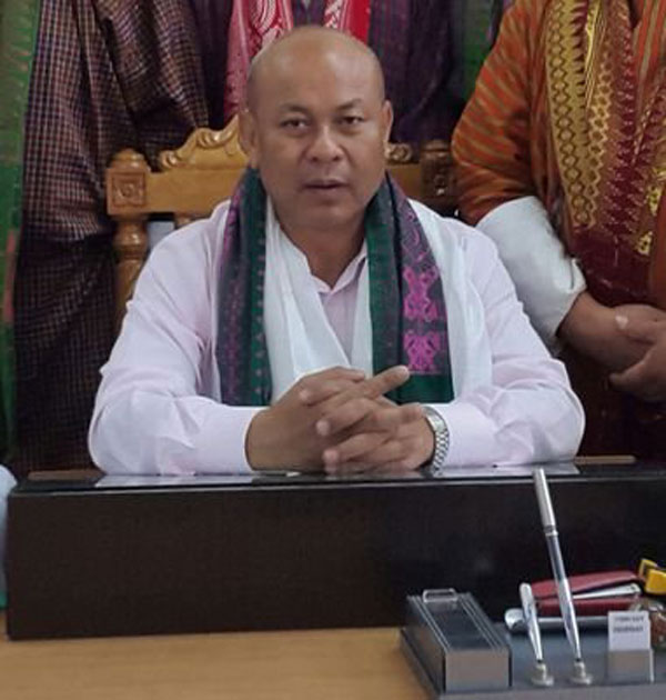 Bodoland Territorial Council (BTC) chief Hagrama Mohilary