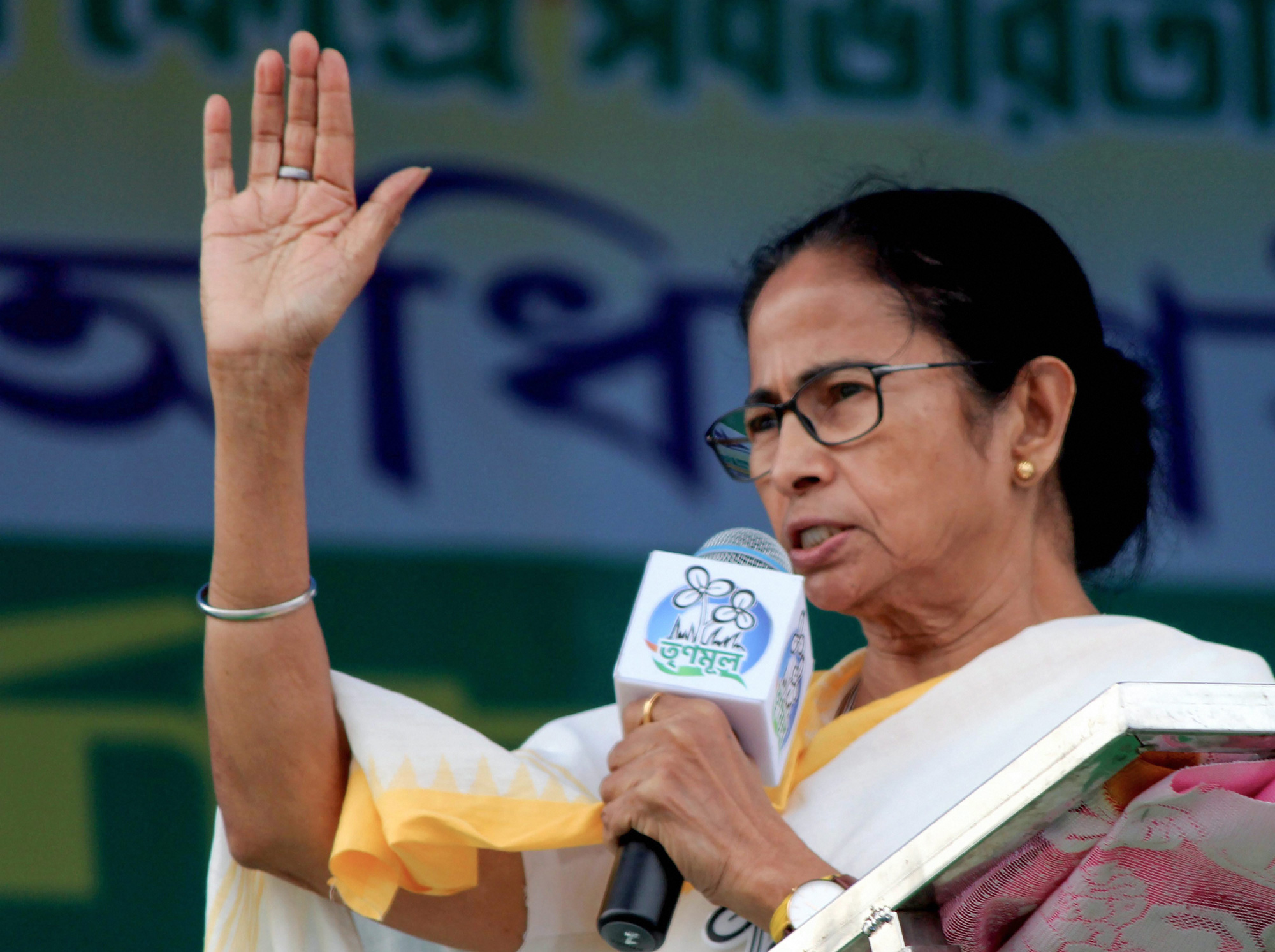 Mamata Banerjee's party seems to have a finger on the pulse of Bengal. Supporters of a TMC candidate reportedly distributed 'nakuldana', sweet tidbits that are integral to the 'prasad' offered to deities