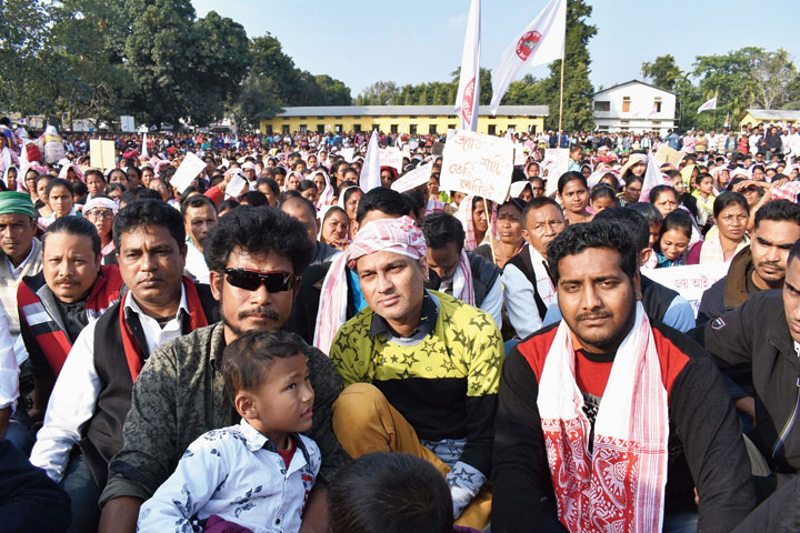Zubeen Garg announced the event at Tangla on Thursday.