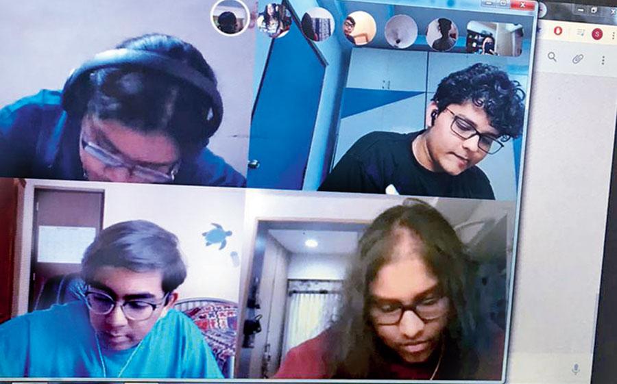 Garden High International School conducts classes over Skype