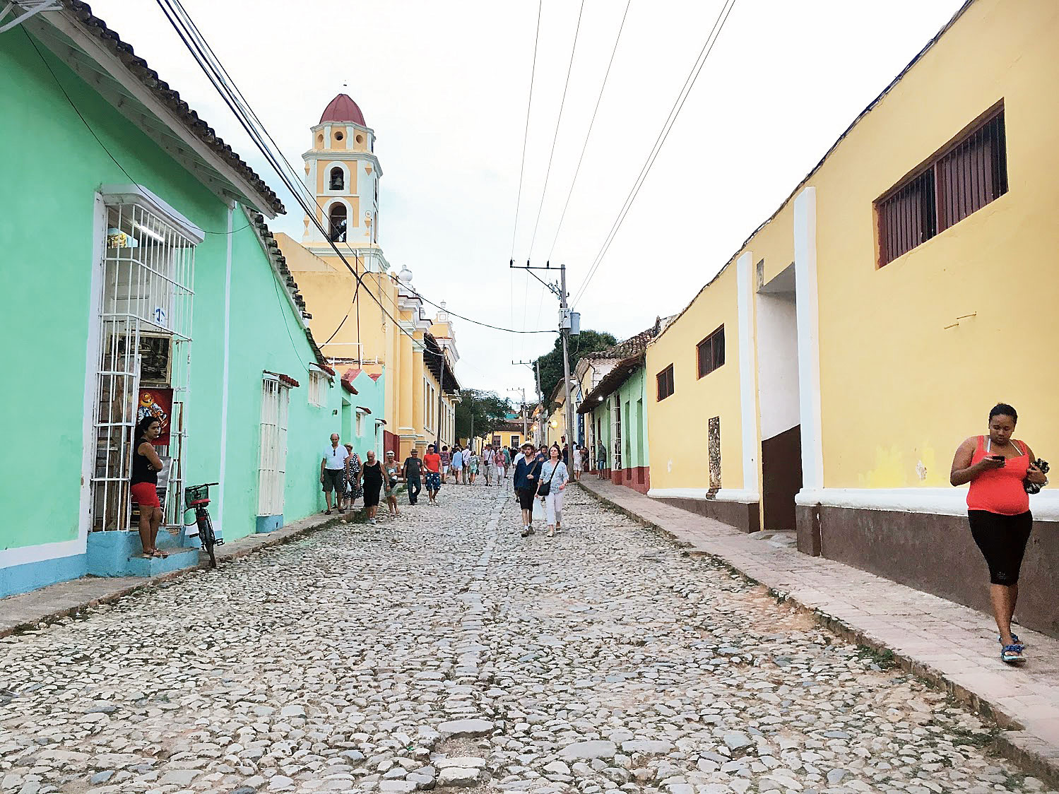 Trinidad is a cobblestone village with amazing food