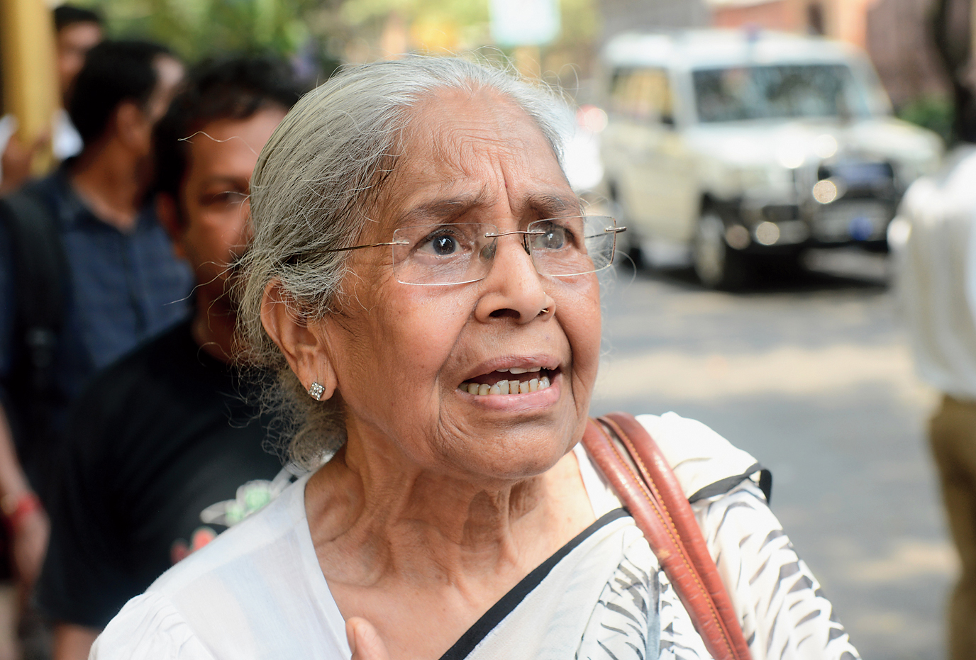 Sarla Khanna narrates her ordeal on Friday afternoon.
