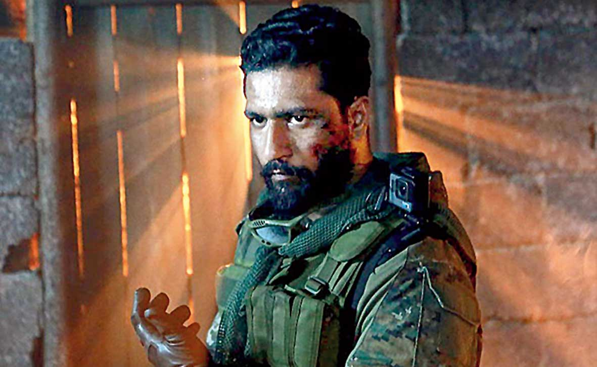 Vicky Kaushal as Vihaan Singh Shergill in Uri.