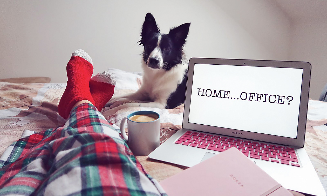 Working from the comforts of one's home does seem like the perfect antidote to being at the beck and call of one's employers round the clock