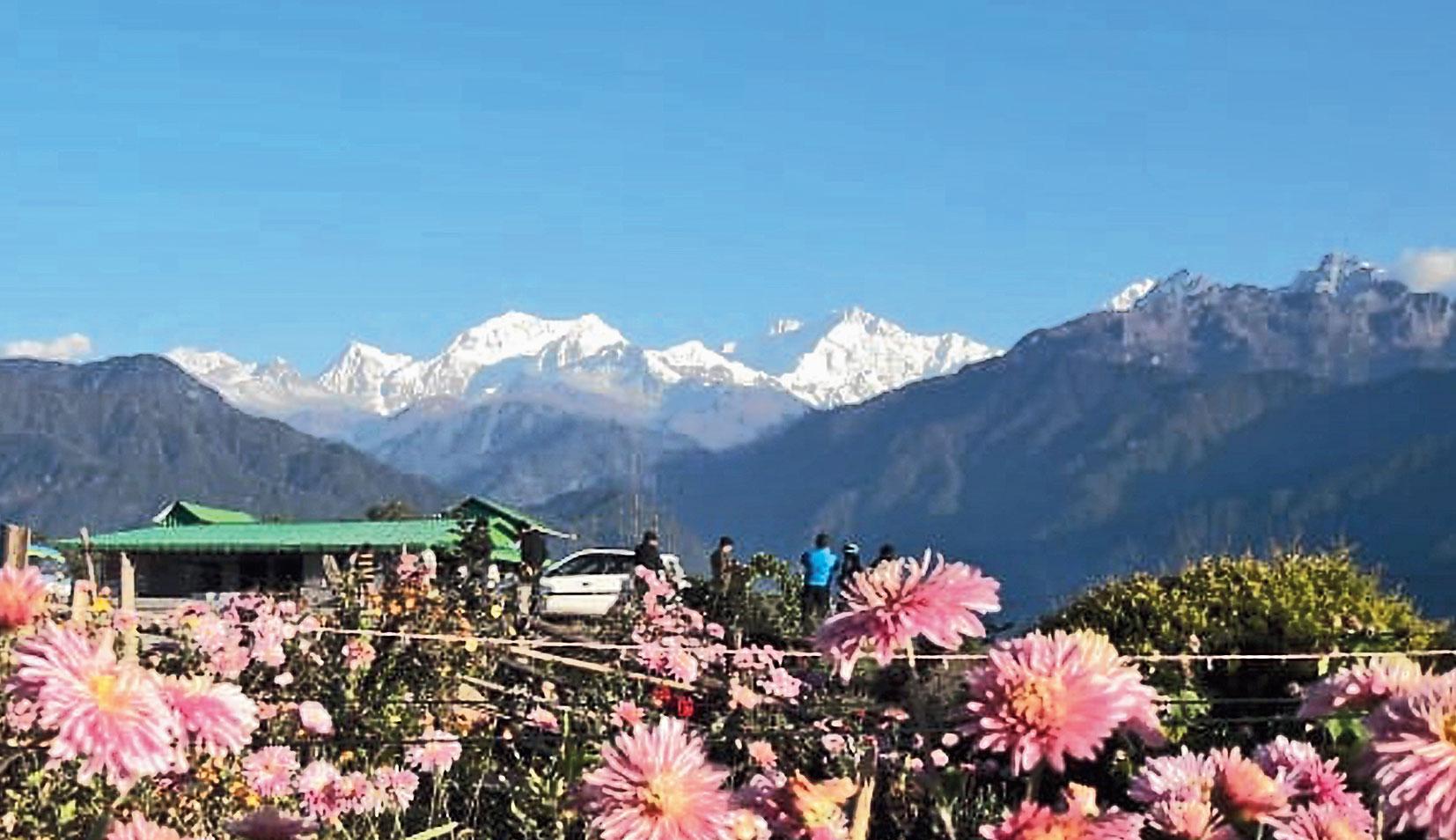 Kanchenjungha, one of the peaks which cannot be climbed from Sikkim