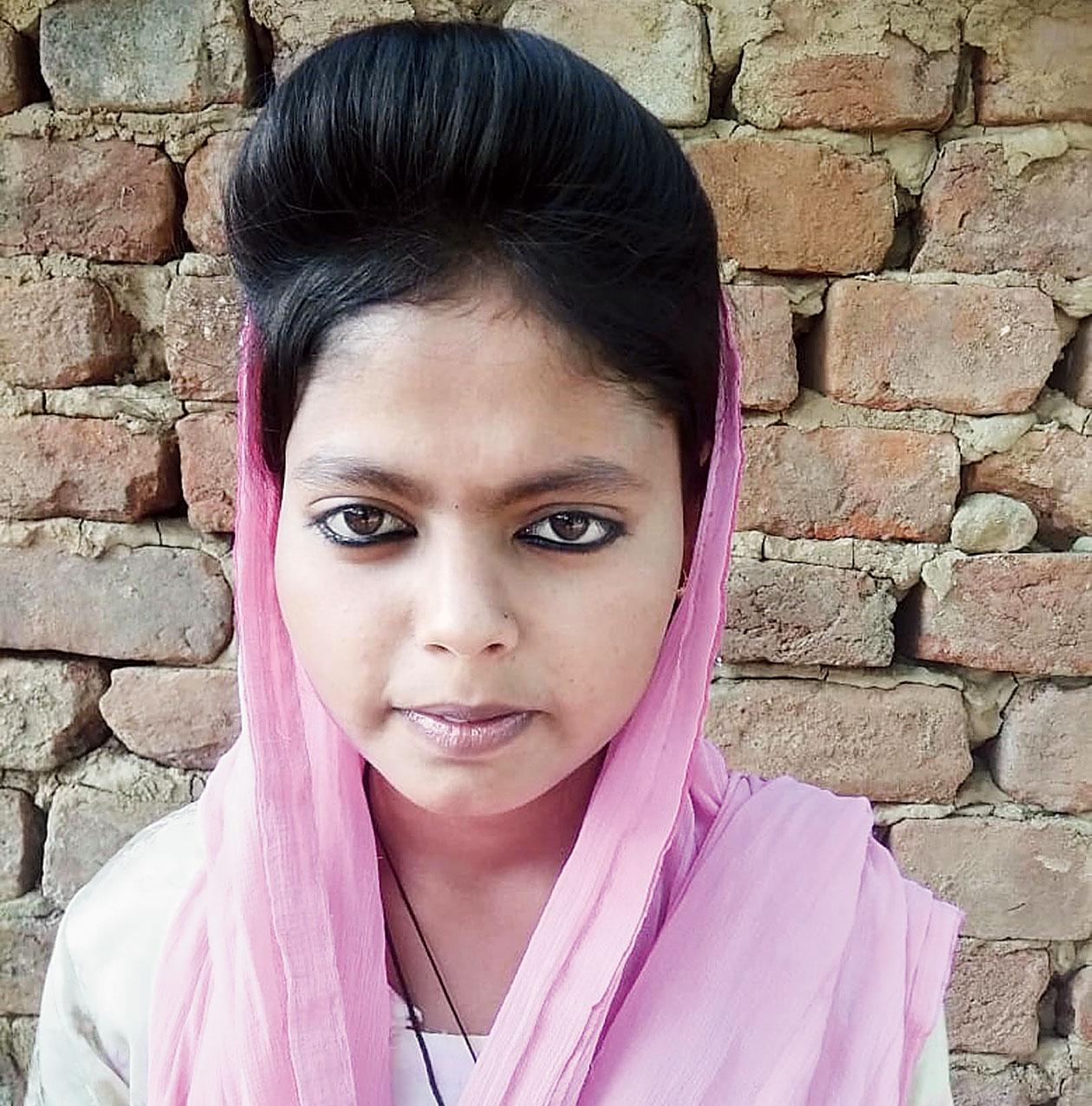 Roshan Ara in Ranchi on Thursday.