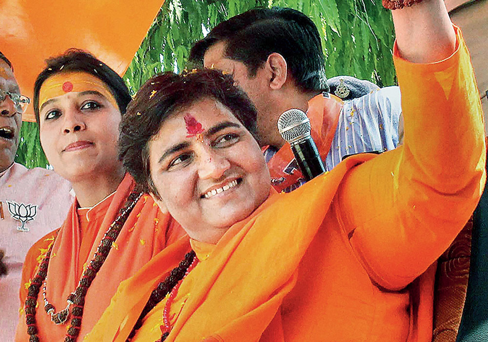The BJP has condemned party MP Pragya Thakur's statement and barred her from attending its parliamentary party meeting in the ongoing Parliament session and also removed her from the consultative committee on defence.