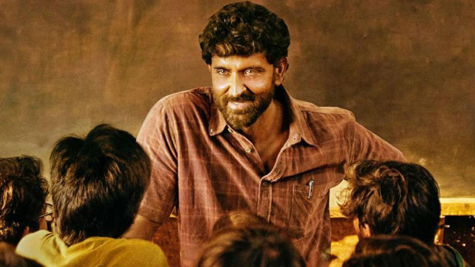 When Super 30 moves into a classroom environment with prolonged scenes between teacher and students, things must be made viewer-friendly through relatable problems