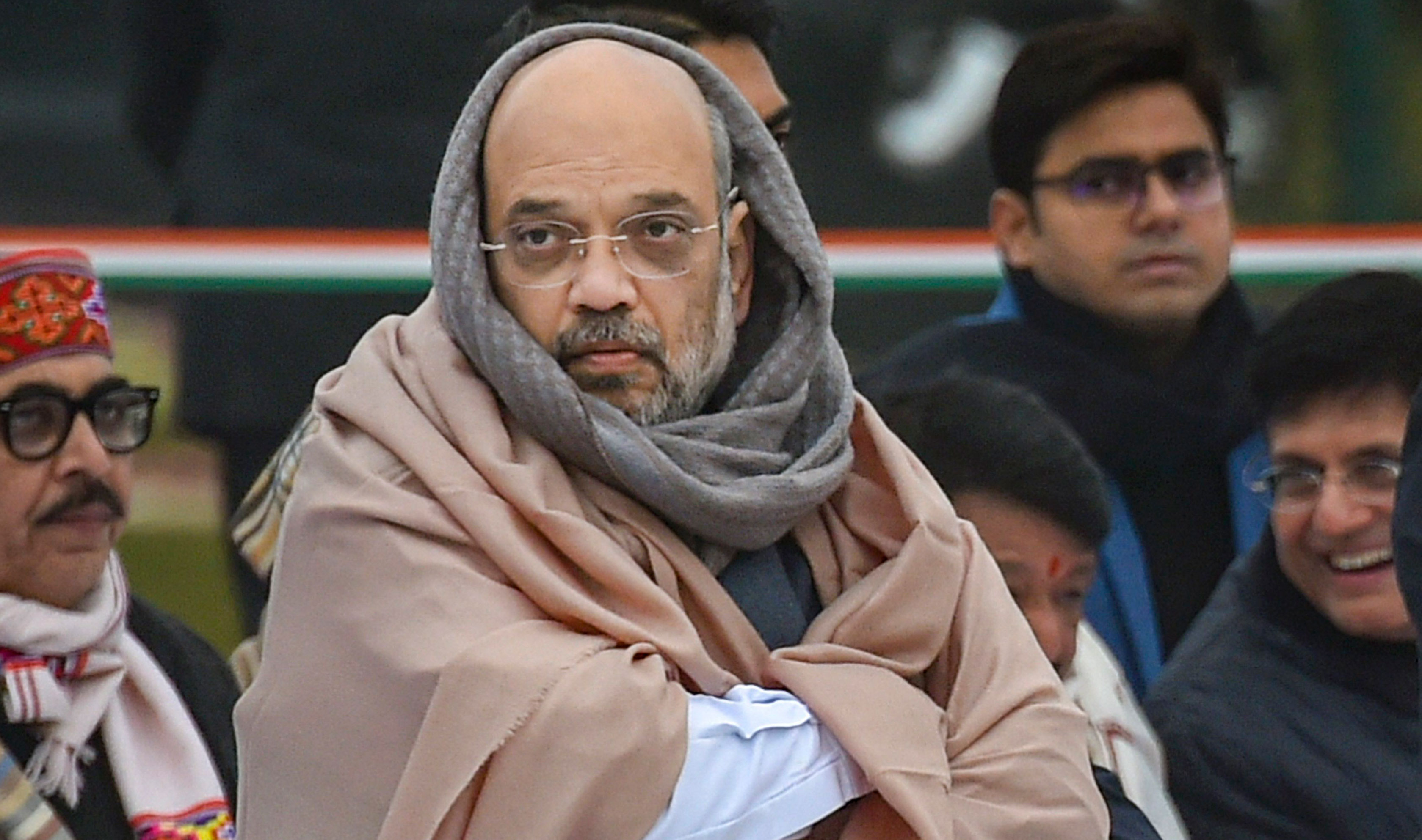 """Amit Shah on Thursday accused the Opposition of spreading """"vranti"""" (disinformation) and alleged its leaders had not said anything against the citizenship bill in Parliament."""