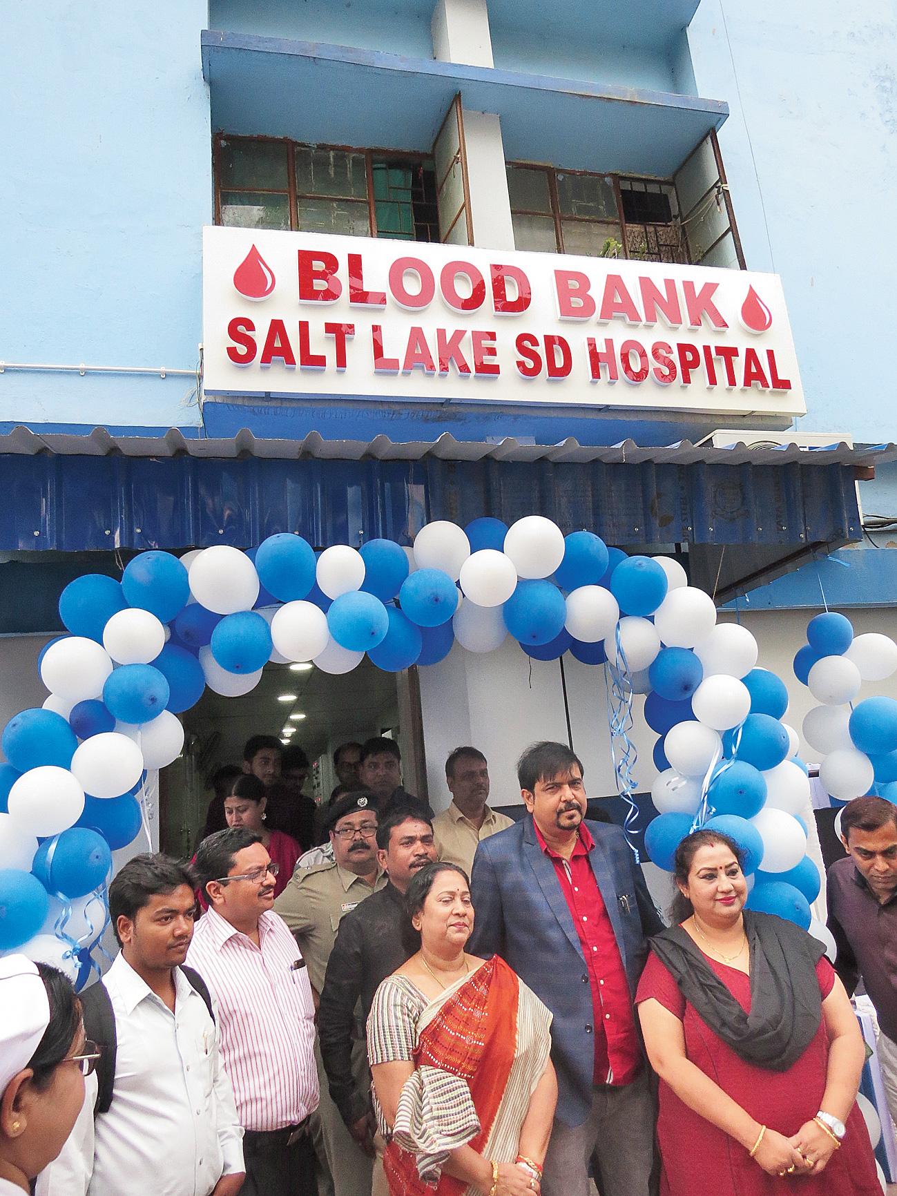 Blood bank for hospital.