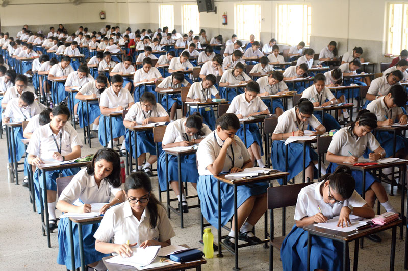 """The president of the West Bengal Council for Higher Secondary Education, Mahua Das, said: """"We will take the best marks from the papers they had written before the lockdown and that would be awarded for the papers they could not write"""