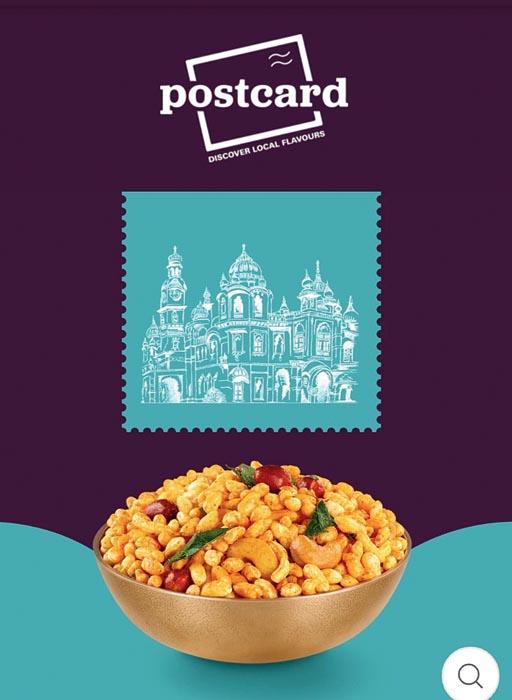 Postcard: Think Jaipur Daalmel, Jamnagari Chiwda or Kolkatar Chanachur