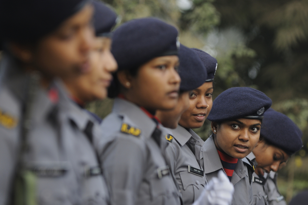 Union minister Kiren Rijiju said the central government has been working for the enhancement of women's representation in the constabulary of paramilitary forces.