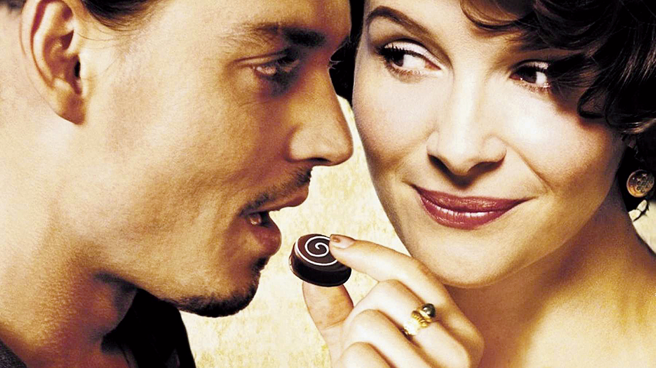 Harris's 1999 novel Chocolat that told the story of young, single mother Vianne Rocher and her six-year-old daughter Anouk, set in the fictitious French village of Lansquenet-sous-Tannes, went on to achieve critical fame and five Oscar nominations for its screen adaptation, featuring Juliette Binoche, Judi Dench and Johnny Depp (in picture above)