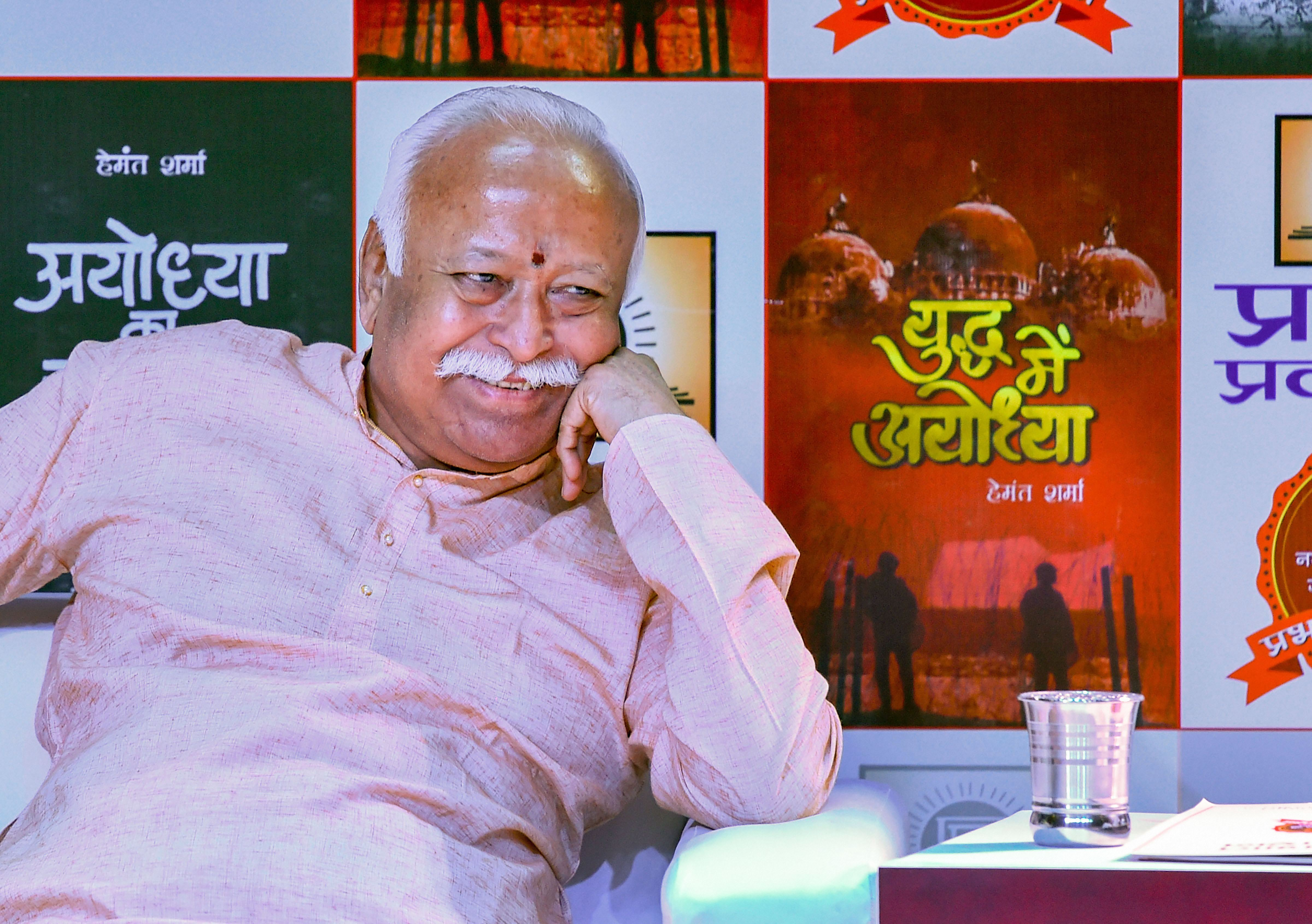 Mohan Bhagwat's epiphany:  Such virtues as inclusion and pluralism