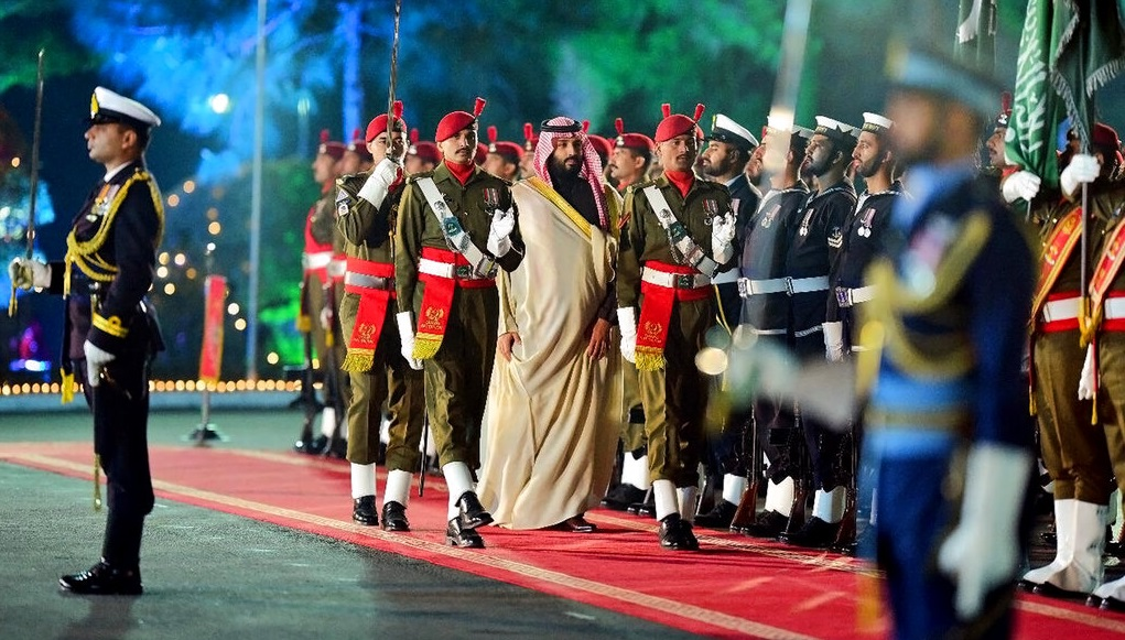 Why the Saudi crown prince changed his route to India