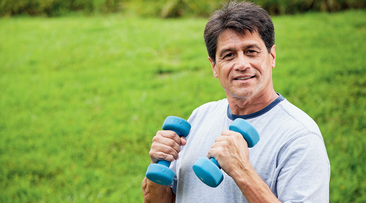 Exercise helps insulin resistance and also influences the way our muscles use glucose