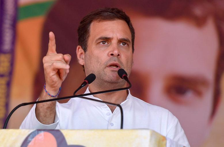Congress President Rahul Gandh