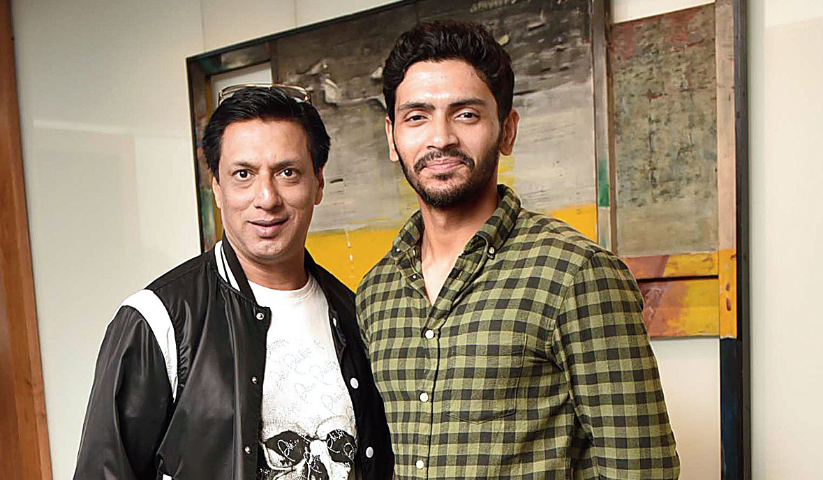 Madhur Bhandarkar with Arjun Chakrabarty