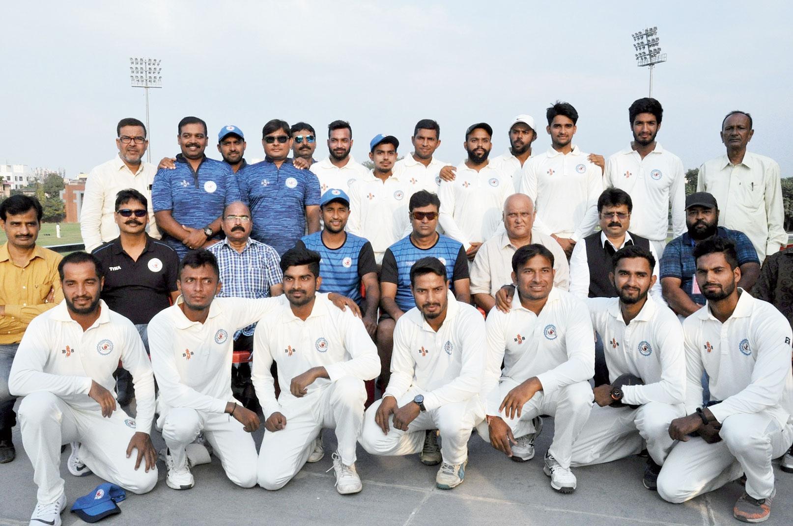 The Bihar Ranji team in Patna.