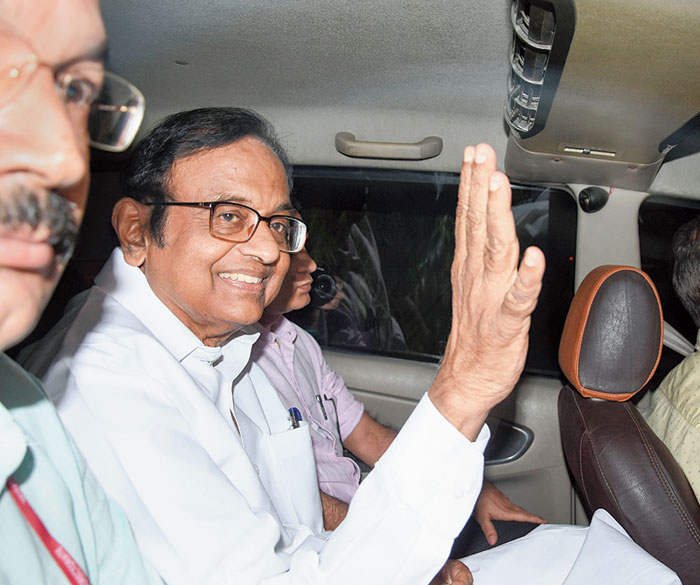 Chidambaram on October 17