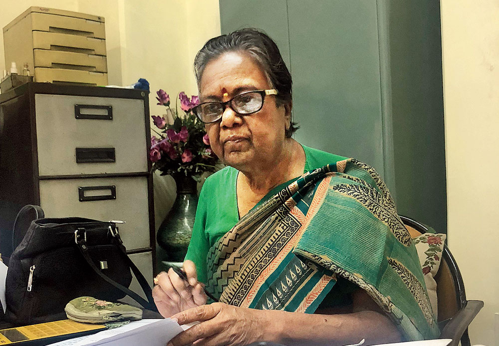 Bhanumati Parekh  is one of the few female auctioneers of India