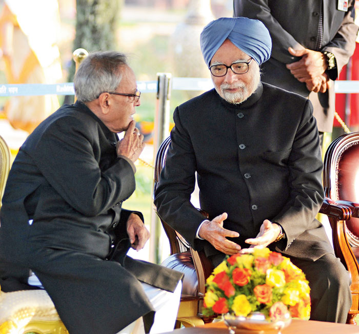 Pranab Mukherjee sabotaged the economic policies Manmohan Singh wanted to pursue — whether because he was an old-style Congress socialist, or because he resented the elevation to prime ministership of his junior, Manmohan Singh, whom he had made RBI governor in the 1980s