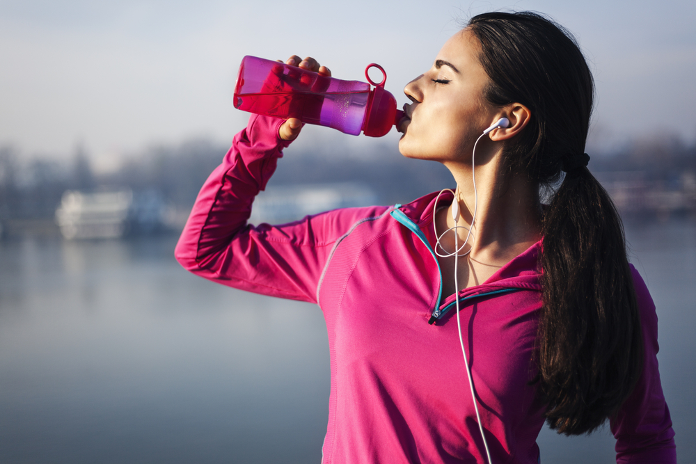 Drink at least 8 glasses of water a day, preferably warm. You can also squeeze some lime into a glass of water.